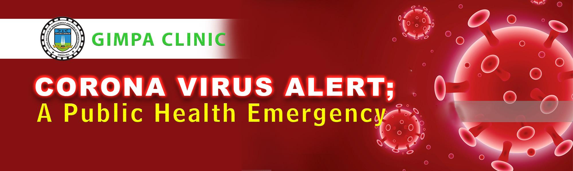 GIMPA Corona Virus Alert